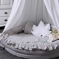 bebek yatakları toptan satış-Yeni Bebek Yuva Yatağı Beşik Taşınabilir Çıkarılabilir Ve Yıkanabilir Beşik Seyahat Yatağı Çocuk Bebek Çocuk Pamuk Cradle