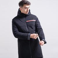 pullover jacke liner groihandel-19FW luxuriöse Marke Design Pra Casual winddichte Daunenjacke Frauen Windbreaker Sweatshirts Sweater Streetwear Outdoor Hoodies Coat