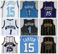 Wholesale uniforms basketball jerseys for sale - Group buy Mens North Carolina Uniforms College Basketball Vince Carter Jersey Tracy McGrady Best Quality Stitched Jerseys Black Purple White