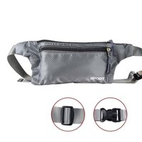 Wholesale tablet security online - Adjustable Belt Bags Travel Pouch Zippered Waist Compact Security Money Phone Tablet Waist for Men Women Promotion