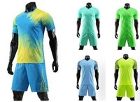 Wholesale new football jersey set for sale - Group buy Personality Customized Soccer Team new Soccer Jerseys Sets Tops With Shorts Training Jersey Short Custom football uniforms
