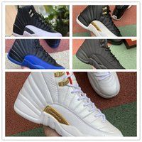 Wholesale 12 basketball shoes for sale - Group buy 12s Winterized WNTR Gym Red Jordán Nakeskin Jordan Retro Mens Basketball Shoes The Master Flu Game Taxi men sport sneakers shoe