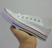 zapatos de deporte de los hombres grandes al por mayor-2019 New star big Size 35-45 High top Casual Shoes Low top Style sports stars chuck Zapatillas de lona clásicas Zapatillas de lona para hombre / mujer