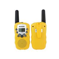 envío walkie al por mayor-Un par Retevis RT-388 Mini Walkie Talkie Radio para niños 0.5W 8 / 22CH Pantalla LCD Amateur Radio de dos vías Talkly Transceptor para niños envío gratis