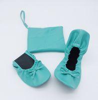 93e17fe094ae Wholesale foldable ballet flats wedding for sale - Wedding fashion ladies  slip on flat shoes foldable
