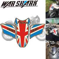 Wholesale tank tiger for sale - Group buy For Tiger Motorcycle Oil Tank Fish Bone Decorative Oil Tank Protection Stick