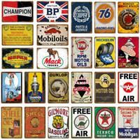 zinnzeichen hund großhandel-Mopar BP Bull Dog RPM Motoröle Blechschild Auto Lkw Motorrad Metall Plaque Bar Pub Garage Tankstelle Wanddekor Reifen Poster
