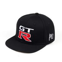 bonés nissan venda por atacado-Nissan GTR_off-road jogo de corrida chapéu carro logotipo equitação esportes personalidade sports car boné de beisebol língua de pato