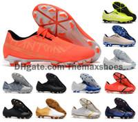 2020 Männer Phantom Venom VNM Elite FG New Lights Under The Radar Fußball Fußball Schuhe Boots Klampen Größe US 6.5 11