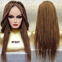 фотографии парик шнурка оптовых-Реальная картина блондинка плетеные парики фронта шнурка с волосами младенца гигантские волосы плетения бразильский парик шнурка волос для чернокожих женщин