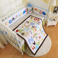 Bedding Sets Baby Bedding Reasonable 7 Pieces Lovely Baby Cot Bedding Set 3d Africa Lion Crib Bedding Cot Sheets Cuna Baby Crib Bumper Sets Unisex Quality First