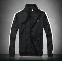 korean slim lazer ternos venda por atacado-2017 marca francesa mens jaqueta de esportes dos homens primavera verão esportes e lazer um terno tendência masculina versão coreana do casaco fino