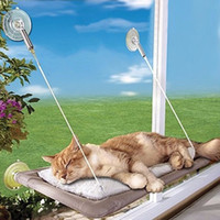 Wholesale hanging cat hammock for sale - Group buy Nosii Hanging Cat Hammock Cat Bed Window Kennels Sofa Mat Cushion Shelf Seat Lounger Couch Sofa With Suction