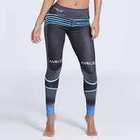Wholesale yoga pants for women online - Outdoors Yoga Outfits Gradation Cultivate Yourself Yoga Pants Printing Running Sports Leggings For Women In Spring lnH1