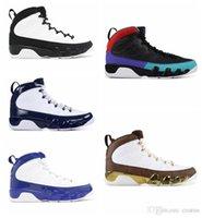 ördek basketbol ayakkabıları toptan satış-Kutusu ile DREAM IT IT 9 9 s erkekler için basketbol ayakkabı UNC BRED uzay reçeli OREGON DUCKS HEYKELI erkek moda spor sneakers