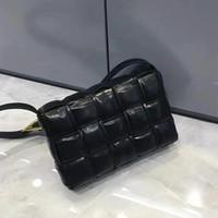 Wholesale women s messenger bag resale online - 2020 Handbag shoulder bags purses and handbags women s messenger bag leisure temperament pleated Plaid woven cow leather pillow handbags
