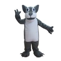 Wholesale women dog costumes for sale – halloween Wolf Dog Costume Outfits Adult Women Men Cartoon Animal Mascot costume For Carnival Festival Commercial Activity