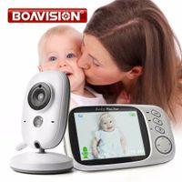 lcd baby monitor оптовых-Видеоняня VB603 2.4G Wireless с 3,2-дюймовым ЖК-дисплеем с двухсторонней аудиосвязью Ночь
