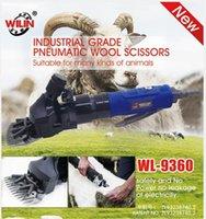 ciseaux en laine achat en gros de-Ciseaux pneumatiques en laine WL-9360 de cisaillement de cisailleur de cisaillement de cisaillement de la lame de cisaille de chèvre de chèvre de mouton de qualité industrielle