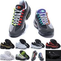 ingrosso sconto di avvio-Nike air max 95 Drop Shipping Scarpe da corsa all'ingrosso Scarpe da uomo OG Sneakers Stivali Authentic New Walking Scarpe sportive scontate
