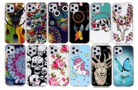 Wholesale iphone skull silicone online – custom Glow In Dark Luminous TPU Soft Case For Iphone Pro Max For Samsung Galaxy NOTE10 Pro A20E A60 A90 Huawei P20 Lite Y5 Skull Dog Cover