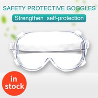 Wholesale stockings materials resale online - In stock anti dust anti splash cheaper safety glasses cheap Labor Insurance safety glasses plastic protective PC materials goggles