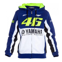 zip mens hoodies ceket toptan satış-Erkek Tasarımcı Ceketler Motosiklet Hoodie Yamaha Için hoody Erkek Tasarımcı Eşofman hoody giyim motosiklet ceket erkekler ceketler çapraz Zip jersey