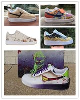 Wholesale 2020 New Men Women Low Cut One Casual Shoes White Black Dunk Sports Skateboarding Shoes Classic AF Fly Trainers High Sneakers EUR40