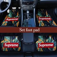 alfombra del piso del coche antideslizante al por mayor-2019Universal alfombrilla de auto para bmw Car Styling Interior Auto Para Honda toyota bmw Universal 4Pcs alfombrillas de auto para auto antideslizante