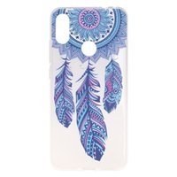 Wholesale dirt bike colour online - For Xiaomi Redmi Note Case Cover Transparent Soft TPU Colour decoration Tower bike Butterfly Girl Mobile Phone Cases