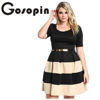 Plus Size Skater Girl Dresses Online Shopping | Plus Size ...