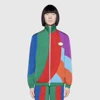 i̇talyan giysileri toptan satış-19SS GU İtalya'da Yapılan Vintage Panelli Ceket Erkek Kadın Moda Ceket Rahat Sokak Giyim Dış Giyim Ceket HFLSJK320