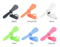 Wholesale 5v fans for sale - Group buy Portable V Mini USB Fans Cooler Hand Phone Cooling Fan For Samsung Xiaomi Android Smart Phone For IPhone s Plus