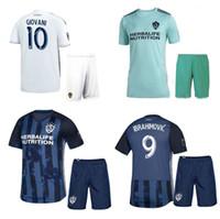 la galaxy shorts großhandel-2019 LA Galaxy Fußball Jersey Shorts 19 20 Ibrahimovic GIOVANI Fußballshirts Los Angeles Galaxy Heimfußball-Sets Auswärtsfußball-Uniformen
