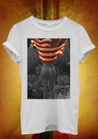 mulheres de colete de bandeira americana venda por atacado-Sexy Girl Bandeira Americana Do Vintage Fresco Das Mulheres Dos Homens Unisex Camiseta Top Tank Vest 1185 Classic Quality High t-shirt