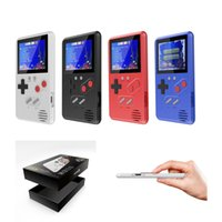 Wholesale portable game machine for sale - Group buy Ultra Thin Portable Games Console Mini Handheld Game Machine Classic Video Game Player Color LCD Games with Retail Box