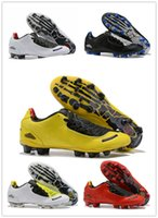 zapatos de golf al por mayor-Zapatillas de fútbol para hombre Copa Mundial de fútbol FG T90 Laser I SE Botas de fútbol Copa Mundial de Fútbol 2019 Negro Blanco Rojo Botines Futbol 40-45