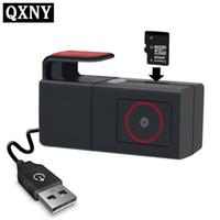 скрытый андроид dvr оптовых-Автомобильный видеорегистратор камеры USB DVR камера для Android 4.2 / 4.4 / 5.1.1 / 6.0.1 Car PC вождений рекордера Hidden