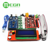 Wholesale driver 3d printer resale online - 1pcs Mega R3 RAMPS Controller A4988 Stepper Driver Module RAMPS LCD control for D Printer kit freeshipping