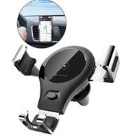 lg telefone modelle großhandel-2 In 1 Autotelefonhalter Schnelle QI Wireless Ladegerät Schwerkraft Ladegerät Kompatibel Für Iphone X 8 Plus Samsung S9 Viele Modelle