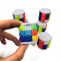 Wholesale tower puzzles for sale - Group buy Creative DIY Child Magic Cube Toy Colorful Magic Tower Puzzle Game cm Halloween Christmas Gift Masquerade Props