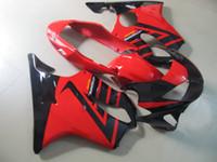 cbr f4 körper kits großhandel-Einspritzverkleidungskörper für HONDA CBR600F4 99 00 CBR 600 F4 1999 2000 CBR 600F4 CBR600 F4 Rot Verkleidungen Karosserie + Geschenke