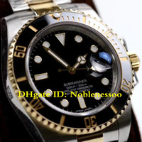 Wholesale swiss diving watch for sale - Group buy 4 Color Real Wrapped k Gold Never Fade Swiss Cal Men s mm LB LN L Steel GM Factory V2 Dive Automatic Watch
