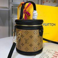 замшевая желтая муфта оптовых-2019 мода классический мир горячие женские сумки топ кожаные женские сумки M62788 16 * 14.5*16 см