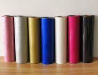 Wholesale heat pressing t shirts resale online - sheet quot x40 quot cmx100cm Glitter Heat Transfer Vinyl Heat Press T shirt Iron On HTV Printing SALE