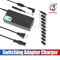 5v evrensel güç kaynağı şarj cihazı toptan satış-Yükseltildi Sürüm SP26 120 W Evrensel Laptop Güç Kaynağı 12-24 V Anahtarlama Adaptörü Şarj USB 5 V / 2.4A ile En Marka Dizüstü