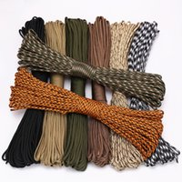 Wholesale paracord lanyard for sale - Group buy 4 Size Dia mm stand Cores Paracord for Survival Parachute Cord Lanyard Camping Climbing Camping Rope Hiking Clothesline