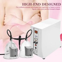 ingrosso corpo a forma di tazza-Hot listing Vacuum Massage Therapy Enlargement Pump Lifting Breast Enhancer Massager Busto Cup Body Shaping Beauty Machine