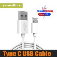 Wholesale note3 cable for sale – best 1M Cable Line Micro Usb Charging Type C Data cable Cord For Samsung Note3 S5 For FT Type C Android phone