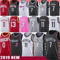 verhärten trikot großhandel-7 Kevin Durant 11 NCAA Kyrie Irving College Basketball Jersey Russell 0 Westbrook Dwyane Männer 3 Wade James 13 Harden Trikots